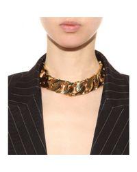 Emilio Pucci - Metallic Chain Necklace - Lyst