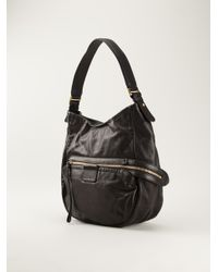 Marc By Marc Jacobs - Black 'Moto Hobo' Tote - Lyst