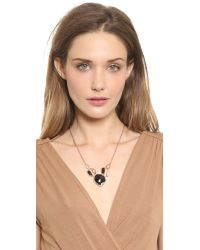 Alexis Bittar   Green Vert Deau Three-Part Encrusted Lucite Bib Necklace   Lyst