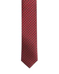 The Kooples - Red 4cm Houndstooth Silk Jacquard Tie for Men - Lyst