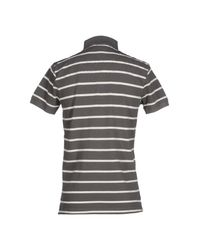 GANT - Gray Polo Shirt for Men - Lyst