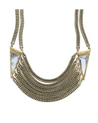Jenny Bird - Metallic Frida Collar - Lyst