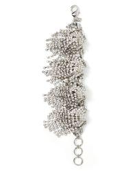Banana Republic | Metallic Sparkle Burst Bracelet | Lyst