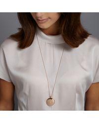 Astley Clarke | Pink 14k Rose Gold Large Astley Locket Necklace | Lyst