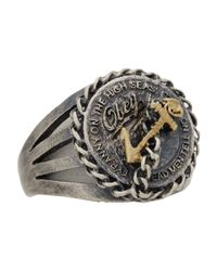Obey | Metallic High Sea Ring for Men | Lyst