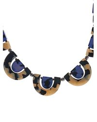 'S Max Mara - Blue Menta Necklace - Lyst