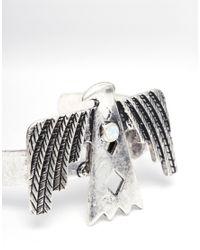 ASOS | Metallic Phoenix Cuff Bracelet | Lyst