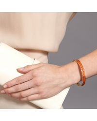 Astley Clarke | Orange Hot Coral Star Mosaic Bangle | Lyst