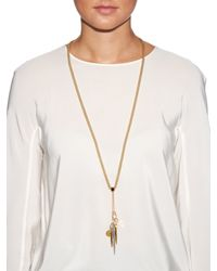 Chloé | Metallic Carly Necklace | Lyst
