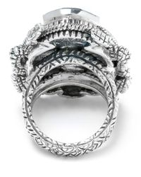 Stephen Dweck | Metallic Large Silver Scarab Ring | Lyst