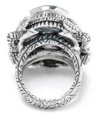 Stephen Dweck - Metallic Large Silver Scarab Ring - Lyst