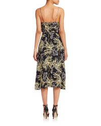 Tanya Taylor - Multicolor Bella Printed Silk Dress - Lyst