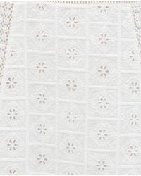 Zara | White Guipur Dress | Lyst