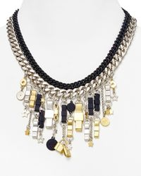 Marc By Marc Jacobs - Multicolor Charmed Bow Tie Statement Necklace - Lyst