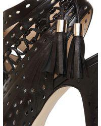 Burak Uyan - Black Calfskin Leather Sandals - Lyst