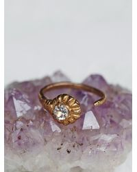 Free People | Metallic Soledad Ring | Lyst