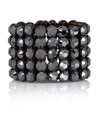 Philippe Audibert | Marilyne Blackened Swarovski Crystal Bracelets | Lyst