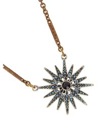 Lulu Frost - Metallic Radiant Necklace - Lyst