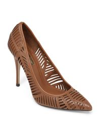 BCBGeneration | Brown Ovation High-heel Leather Pumps | Lyst