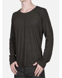 Lumen Et Umbra - Brown Long Sleeve T-shirt for Men - Lyst