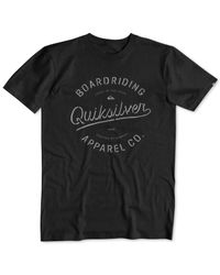 Quiksilver | Black Quicksilver Rhino Chaser Graphic-print T-shirt for Men | Lyst