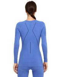 Falke - Blue Advanced Skier Long Sleeve T-shirt - Lyst