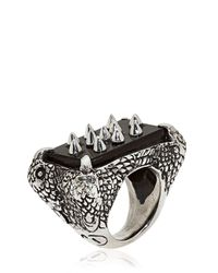 KD2024 | Black 4p Ring for Men | Lyst