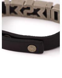 DIESEL - Brown 'askyt' Bracelet for Men - Lyst