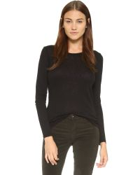 Sundry | Black Classic Long Sleeve Tee | Lyst