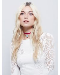 Free People - Pink Child Of Wild Womens Electric Daze Choker - Lyst