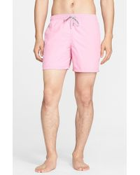 Vilebrequin | Pink 'moorea' Swim Trunks for Men | Lyst