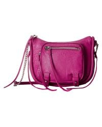 She + Lo | Purple Silver Lining Camera Bag - Bordeaux | Lyst