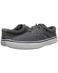Sperry Top-Sider - Gray Striper Cvo Wash Stripe for Men - Lyst