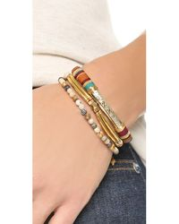 Gas Bijoux | Multicolor Massai Classique Bracelet - Green Multi | Lyst
