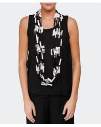 Jianhui | Gray Ten Strand Multiway Necklace | Lyst