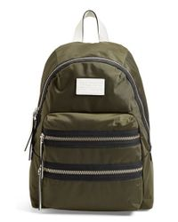 Marc By Marc Jacobs | Green 'domo Arigato Packrat' Backpack | Lyst