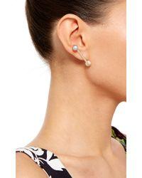 Ana Khouri | Blue Pearl And 18k Yellow Gold Jen Earrings | Lyst