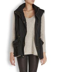 Donna Karan - Black Adjustable Coat - Lyst