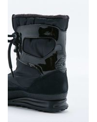 Adidas | Snowrush Black Snow Boots | Lyst