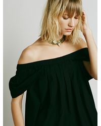 Free People - Black Willow Dress - Lyst