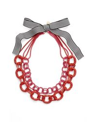 Trina Turk - Colored Chain Collar Necklace - Lyst