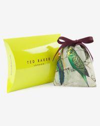 Ted Baker | Gray Woven Leather Bracelet for Men | Lyst