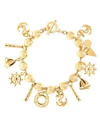 Brooks Brothers - Metallic Multi Pendant Bracelet - Lyst