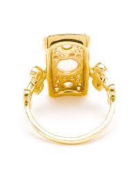 Sabine G | Metallic 18k Yellow Gold Navona Ring | Lyst