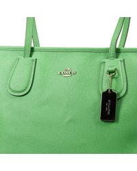 COACH | Green Handbag Woman | Lyst