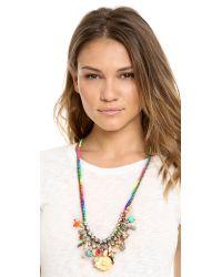 Venessa Arizaga - White Hawaiian Punch Necklace - Lyst