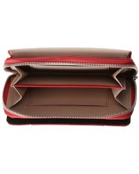 Knomo - Red Seymour Leather Smartphone Wristlet - Lyst
