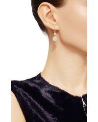 Nina Runsdorf - Metallic Yellow Diamond Drop Earrings - Lyst