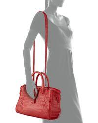 Nancy Gonzalez - Red Small Crocodile Tote Bag - Lyst
