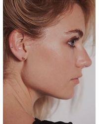 Erica Weiner - Metallic Shapes Studs - Lyst